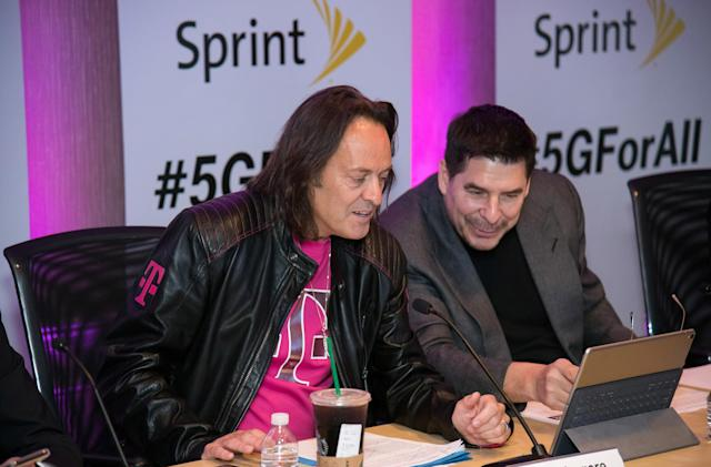 Sprint and T-Mobile: A coalition of also-rans