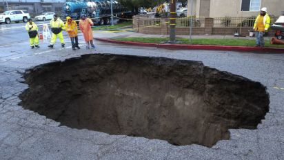 L.A. to pay $4M to woman in sewage sinkhole case