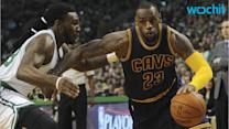 LeBron Leads Cavs to Sweep of Celtics