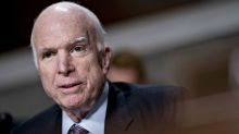 Messages of support for ailing John McCain stream in from both sides of the aisle