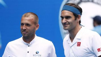 Dan Evans boosted by Roger Federer 'like a mirror' tribute as he reflects on Australian Open defeat