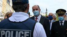 """Sécurité: pour Castex, les policiers font """"le boulot"""" mais """"l'intendance ne suit pas"""""""