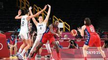 JO - Basket (F) - Les Bleues en quarts de finale malgré leur défaite face aux États-Unis
