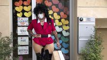 Drag queens entregan comida y música en San Francisco