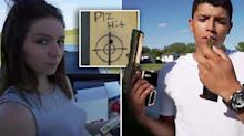 Final moments before girlfriend fatally shoots YouTube star in failed stunt