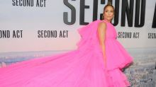 J Lo wears 12 different outfits to promote new movie Second Act