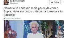Novo cabelo de Ana Maria Braga rende comparação com Supla e vira piada na web