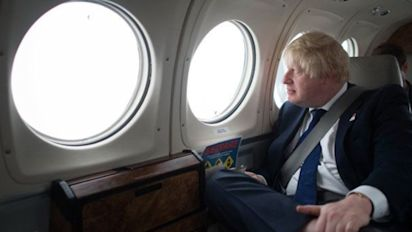 The hunt is on - as Boris Johnson goes 'missing'