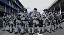 PHOTOS: Specialist police units deployed for New Year's Eve security operations