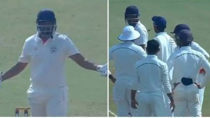 Yusuf Pathan Refuses To Walk Off After Being Given Out