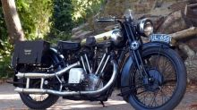 Lawrence of Arabia's penultimate Brough Superior SS 100 to star at Bristol bike show