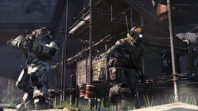 Watch us play Titanfall for Xbox One (poorly) right here! (update: and it's over!)