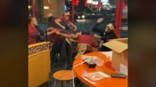 '7 employees were terminated:' Brawl at Wisconsin Popeyes caught on camera