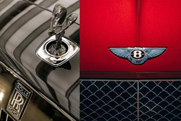 神與神對決,Rolls-Royce Wraith v.s. Bentley Continental GT