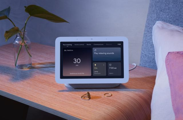 Google's latest Nest Hub smart display detects motion to track your sleep