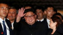 North Korea's Kim in China; U.S., South Korea suspend military drill