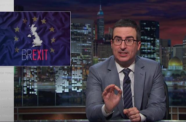 John Oliver's Brexit takedown won't air in the UK until after EU vote