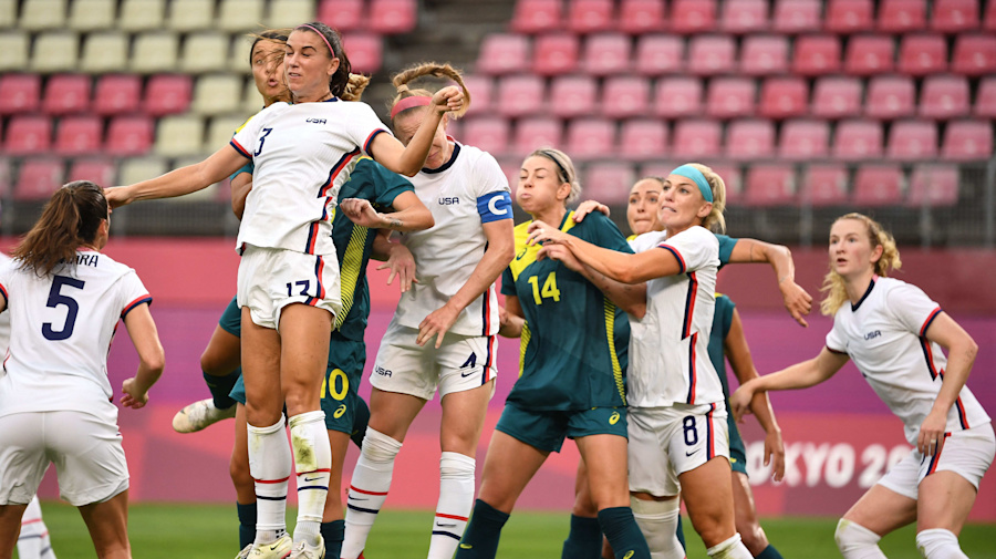 Watch live: USWNT settles for tie with Australia