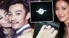 Michelle Ye gets a diamond ring from boyfriend