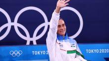 Olympics-Gymnastics-At 46, Chusovitina bids farewell, again, after eighth Games