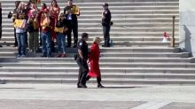 Jane Fonda Arrested At U.S. Capitol During Climate Change Protest