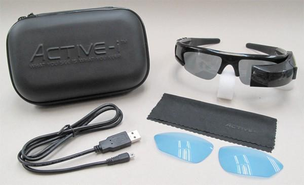 Active-i sunglasses slyly capture video, plays it back on integrated display