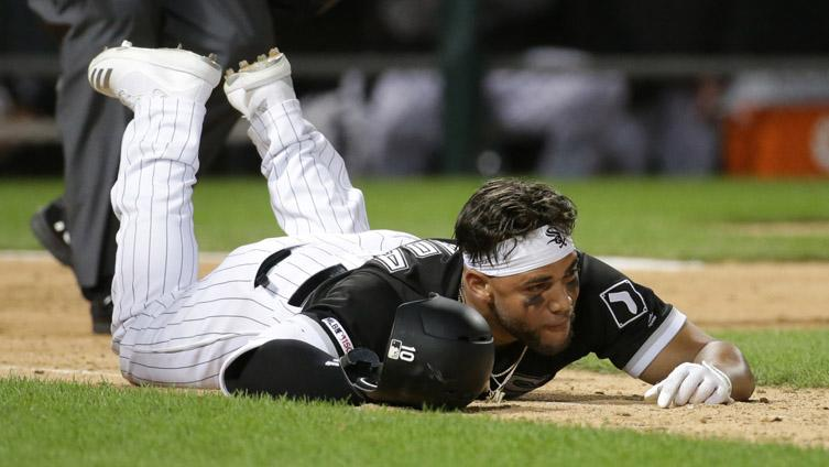 In stellar return from injured list, only Yoan Moncada's pride hurt in embarrassing tumble
