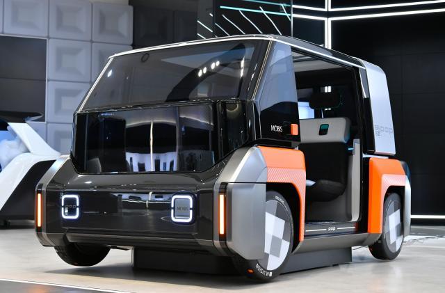 Hyundai imagines an EV future where cars 'crab drive' sideways to park