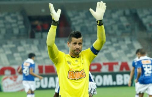 Cruzeiro confirma volta de Fábio ao gol após oito meses de ausência