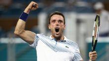 Bautista Agut stuns top-ranked Djokovic in Miami