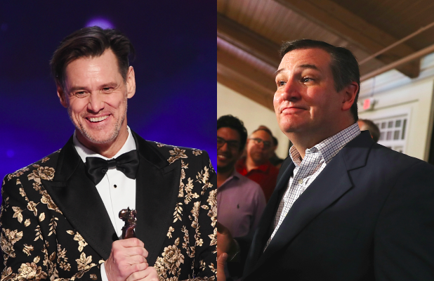Jim Carrey Fires Back at Ted Cruz Over 'Vampire' Election ...