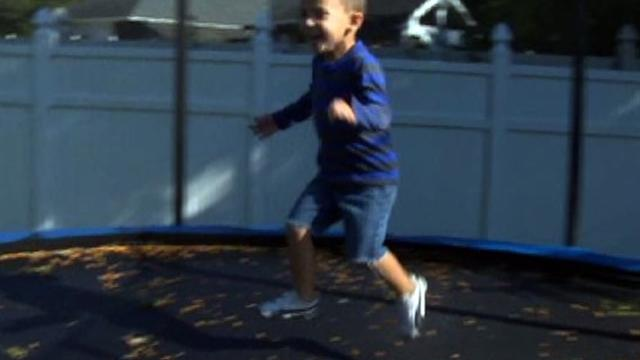 Health warning discourages at-home trampolines