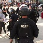 George Floyd protest: San Jose police escalate response with flashbang grenades, tear gas, rubber bullets