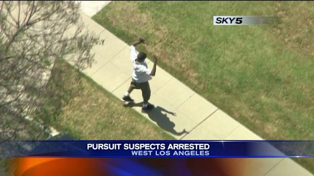 Suspects Arrested After Dangerous High-Speed Pursuit