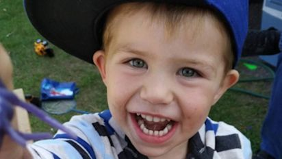 Search for boy swept away by Grand River flood continues