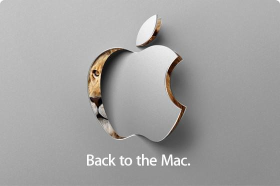 "Apple anuncia un evento para el 20 de octubre: ""Back to the Mac"""