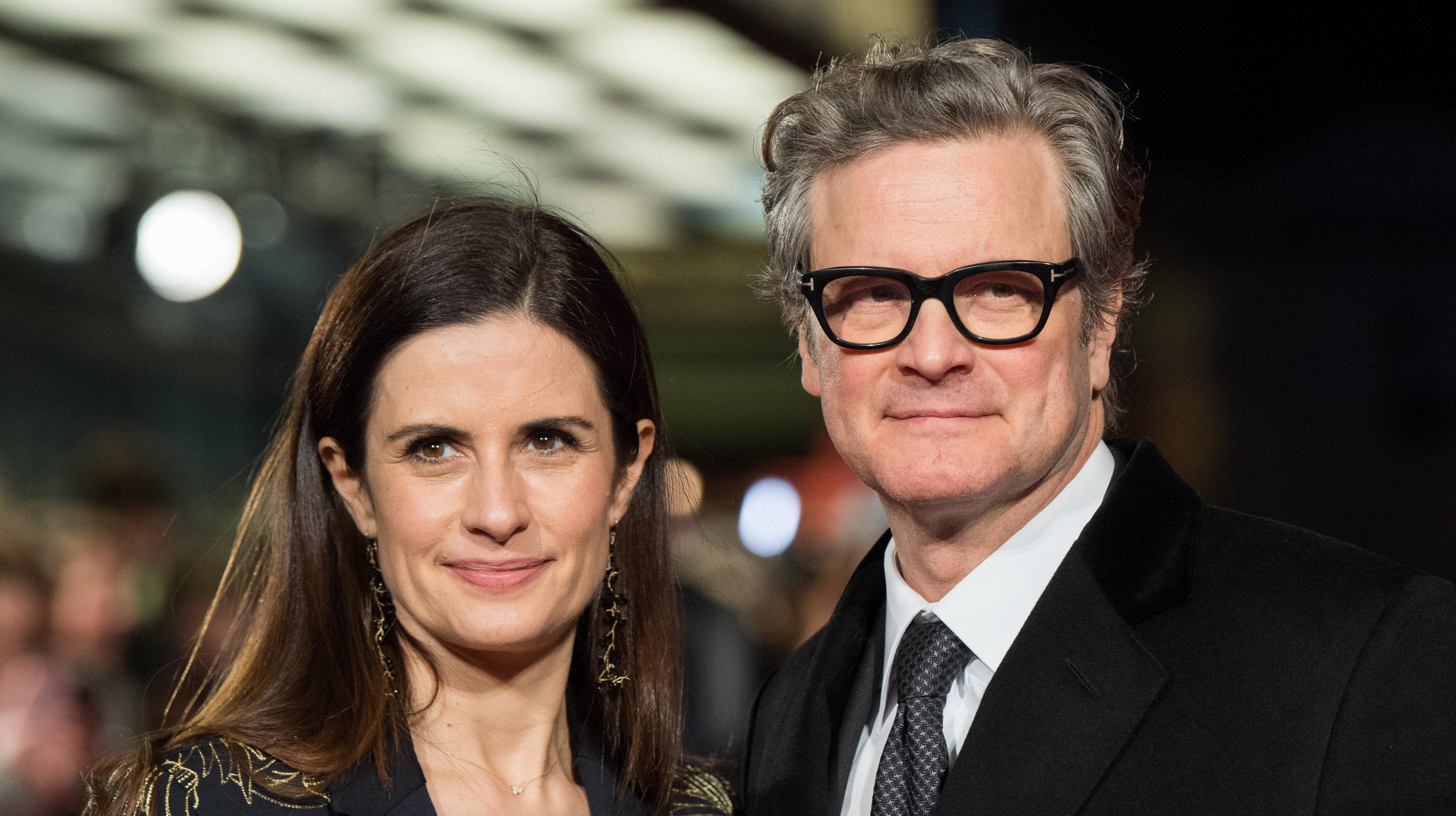 Colin Firth's Wife R...