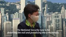 Carrie Lam cries foul at being 'mistreated' over US sanctions targeting her and 10 officials