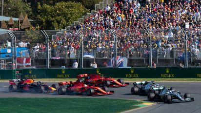 F1 fans arrested over alleged joyride at Aus GP