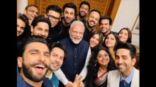 Viral Bollywood Photos Of 2019: From Bollywood's Selfie Moment With PM Modi To Taimur's Yoga Picture