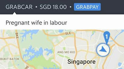 Baby born during GrabCar ride in Singapore