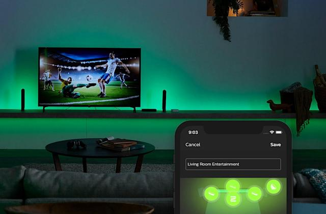 Philips' new Hue Play box syncs your lights with your TV