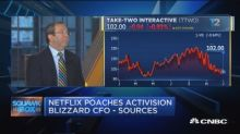 Netflix reportedly poaching Activision Blizzard CFO