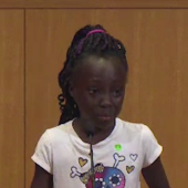 9-year-old gives heartbreaking speech in Charlotte: 'I feel like we are treated differently ... just because of our color'