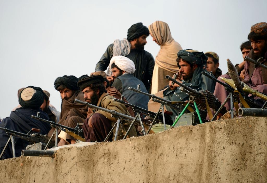 """Pakistan began supporting the Taliban movement of the 1990s as part of its policy of """"strategic depth"""" against nemesis India (AFP Photo/Javed Tanveer)"""