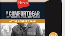 New Hanes Active Comfort Tank Compression Shirt Supports Those Who Work and Play Hard