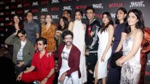 Janhvi, Kartik, Ananya attend the premiere of 'Ghost Stories'