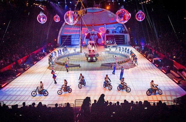 The last Ringling Bros. circus will be streamed on Facebook Live