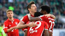 Wolfsburg 0 Bayern Munich 6: Ancelotti's men clinch title in style