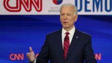 Joe Biden sweeps primaries to take stranglehold on Democratic nomination